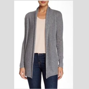 S65 Susina 100% cashmere open front cardigan